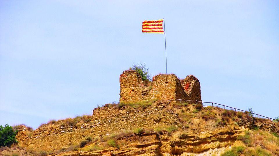 Флаг Каталонии