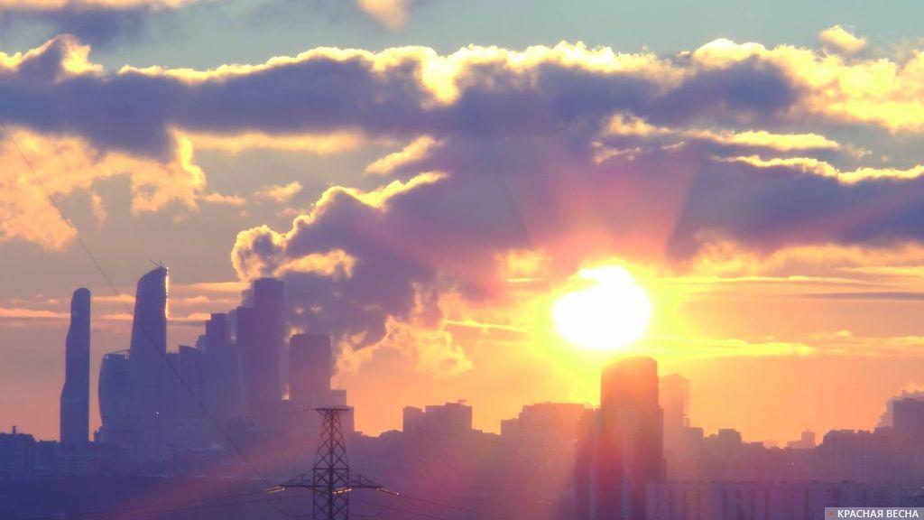 Восход над городом