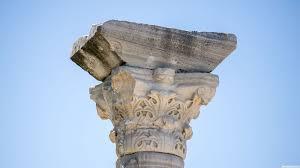 Древнегреческая колонна. Херсонес. Крым
