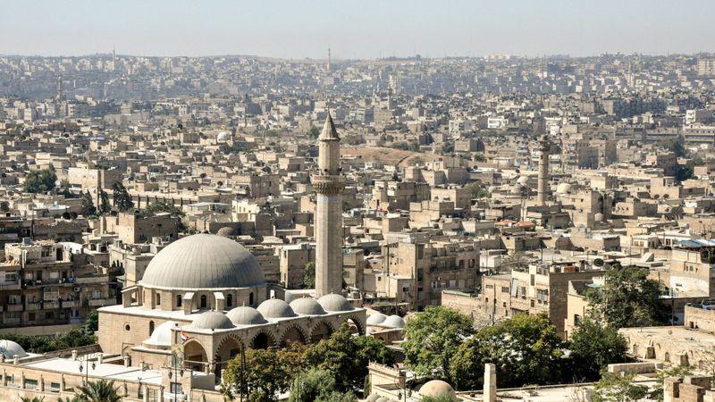Алеппо до гражданской войны в Сирии