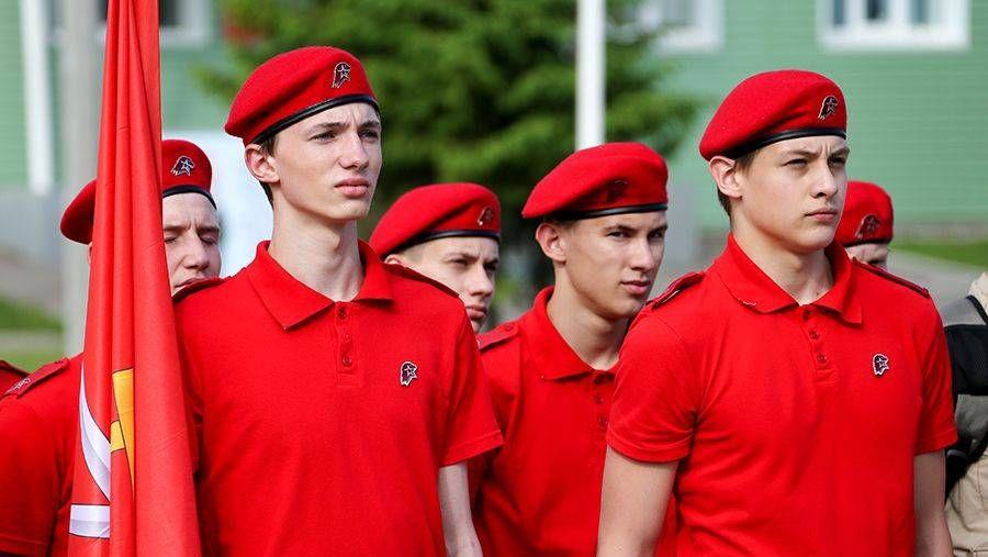 Первый слет молодежного военно-патриотического движения Юнармия