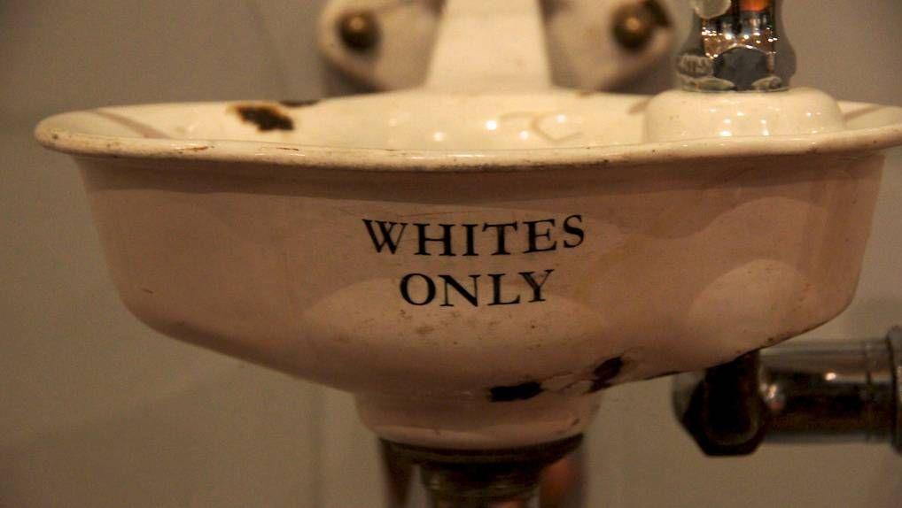 Только для белых