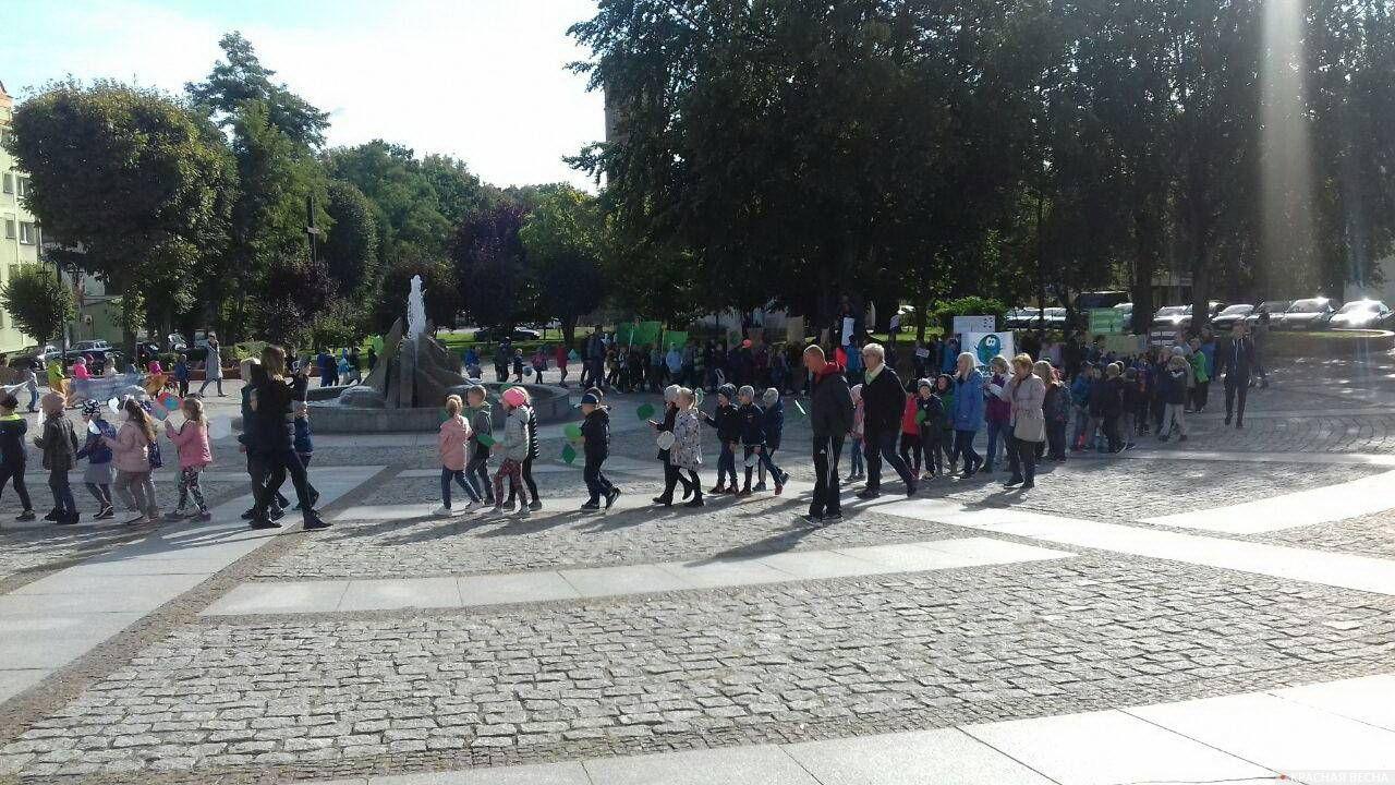 Экологический пикет в поддержку молодежной акции «Пятница ради будущего»