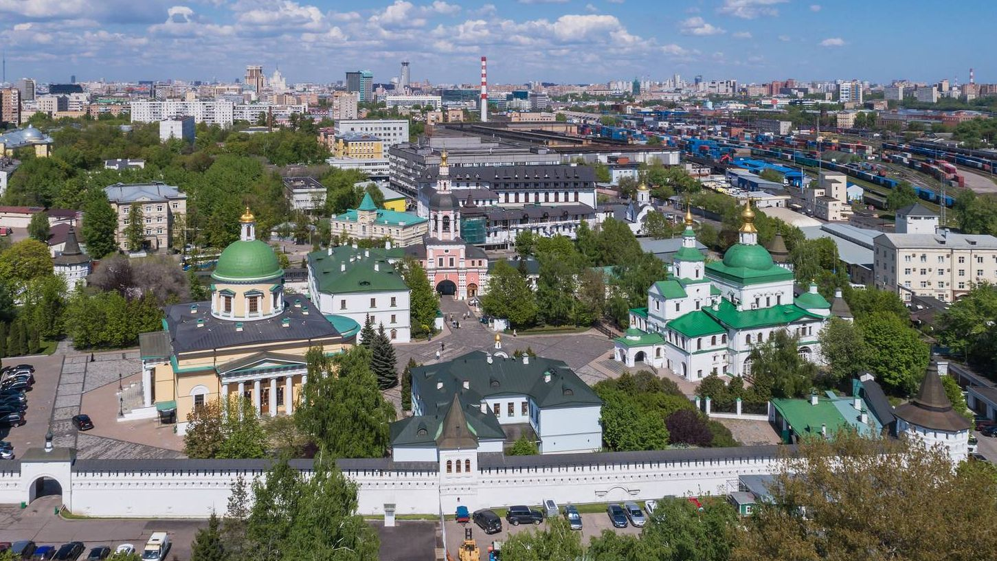 Даниловский монастырь, Москва