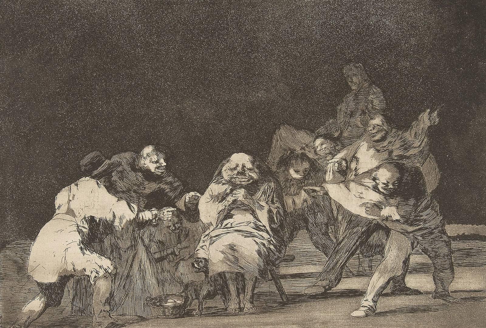 Франсиско Гойя. Лояльность. Ок. 1816–1823
