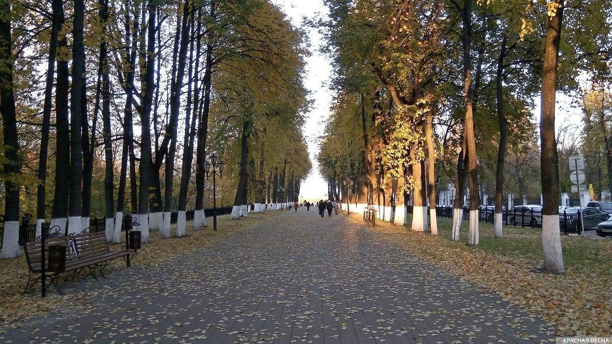 Первомайский бульвар. Ярославль