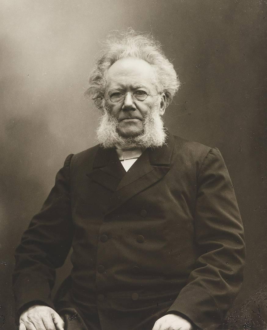Генрик Ибсен. 1894