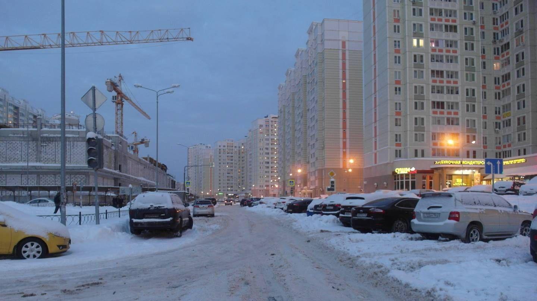 Железнодорожный. Улица Рождественская