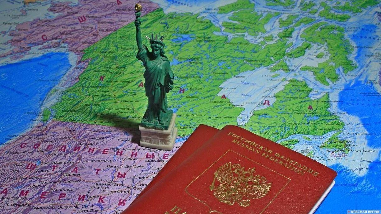 Заграничный паспорт. США