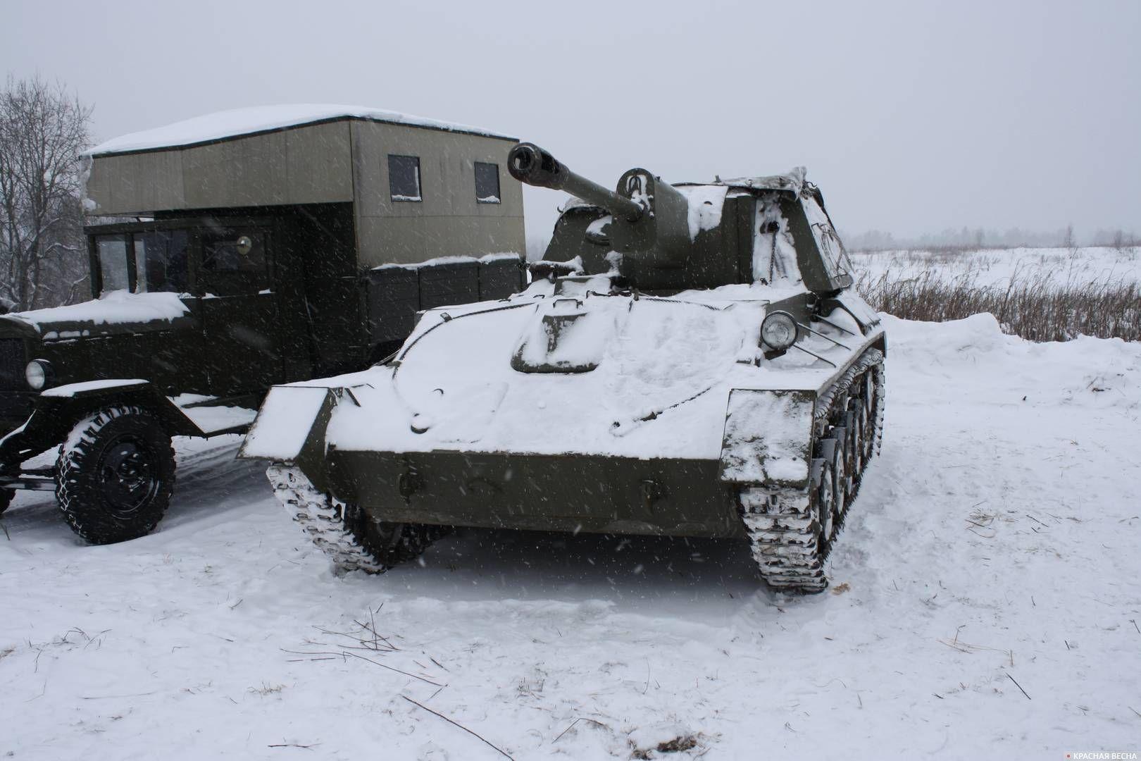 Советская САУ