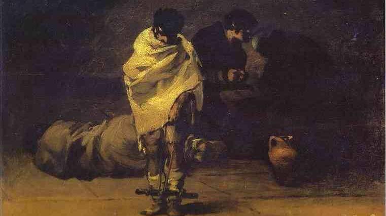 Франсиско де Гойя. Тюремная сцена