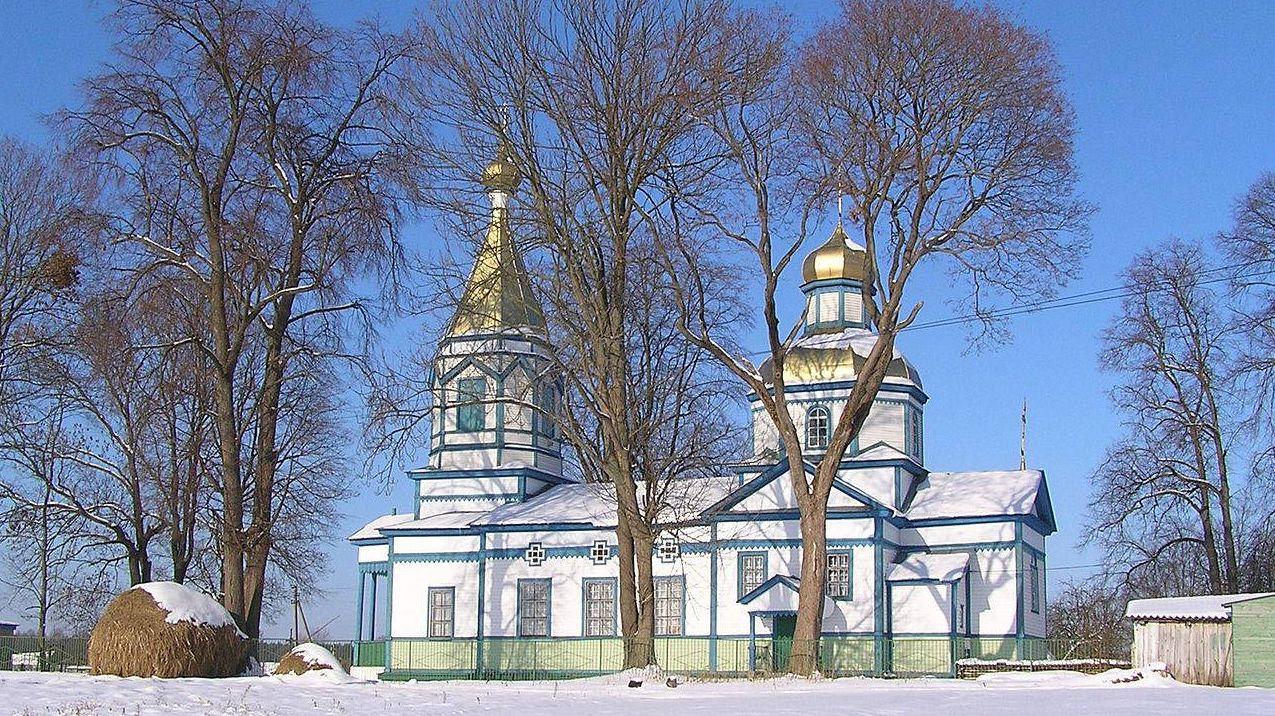 Николаевская церковь, с.Во́рсовка