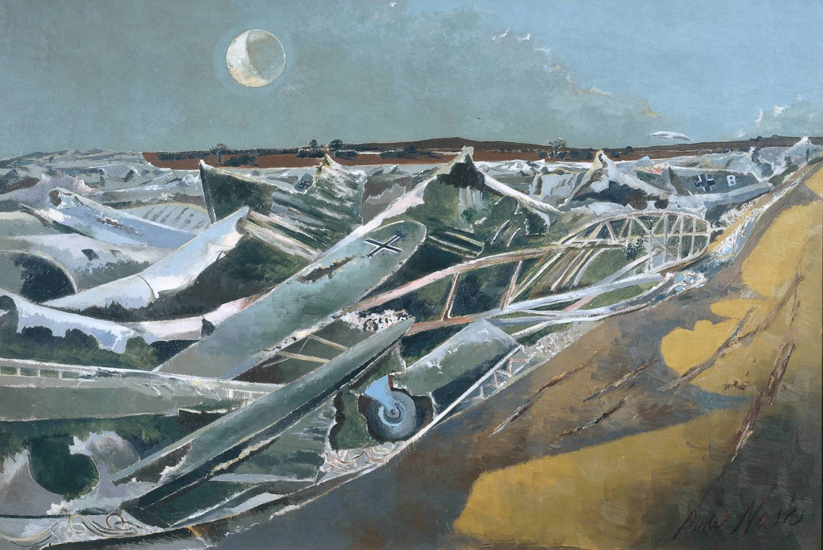 Пол Нэш. Мертвое море. 1941