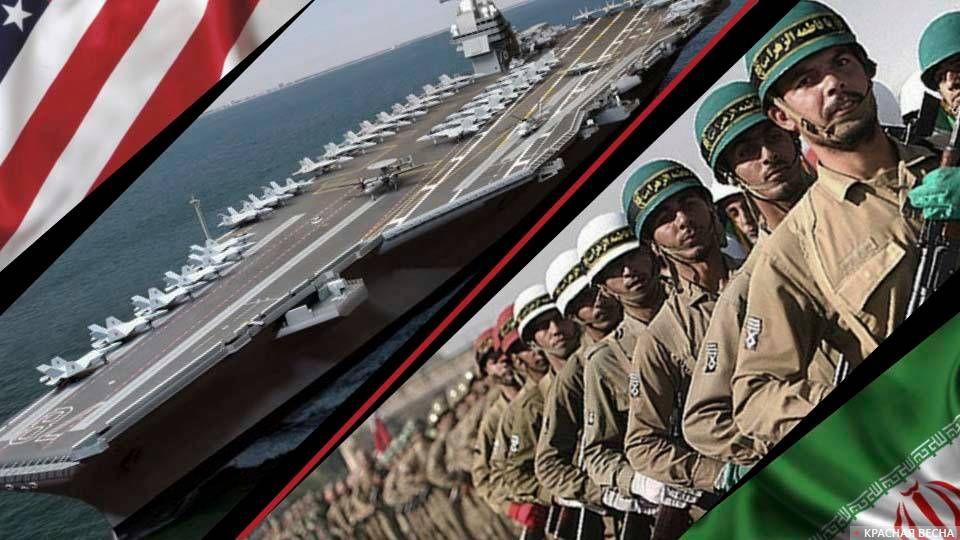 США vs Иран