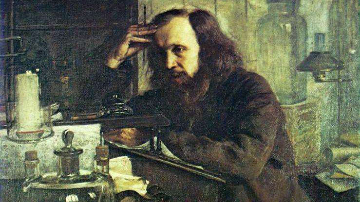Николай Ярошенко. Дмитрий Менделеев. 1886.