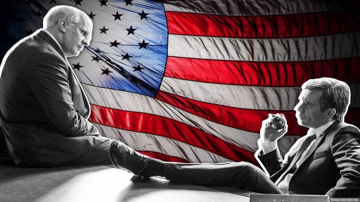 Дик Чейни и Джордж Буш-младший х/ф «Власть»