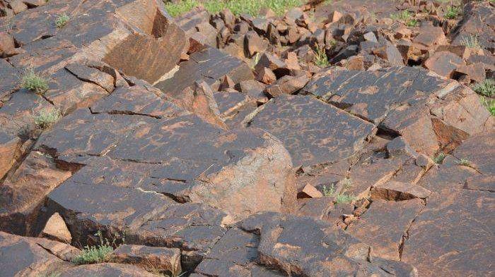 Скалы с петроглифами
