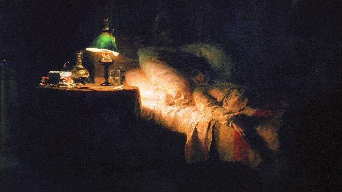 Василий Дмитриевич Поленов. Больная. 1886, Москва, Государственная Третьяковская галерея