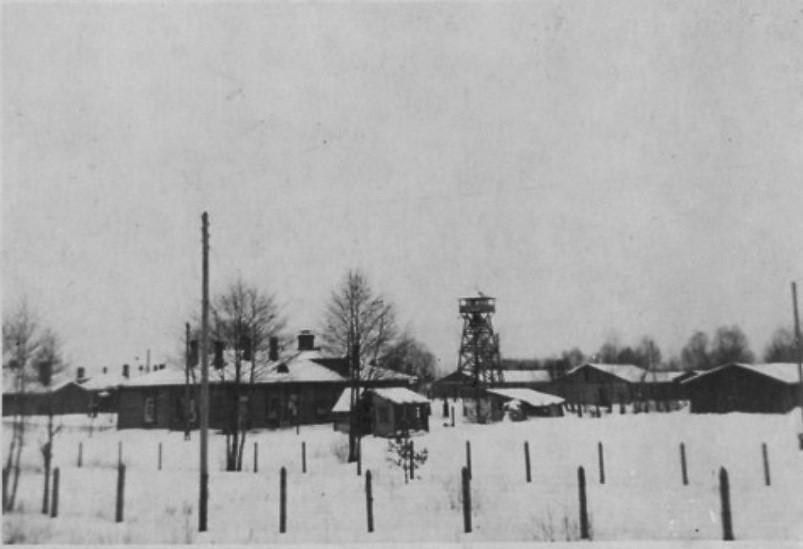 Dulag 142. Немецкое фото периода оккупации.
