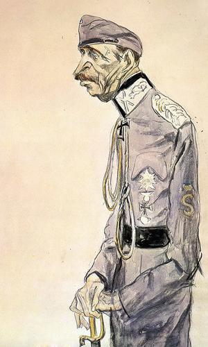 Кукрыниксы. Маннергейм. 1943 г.