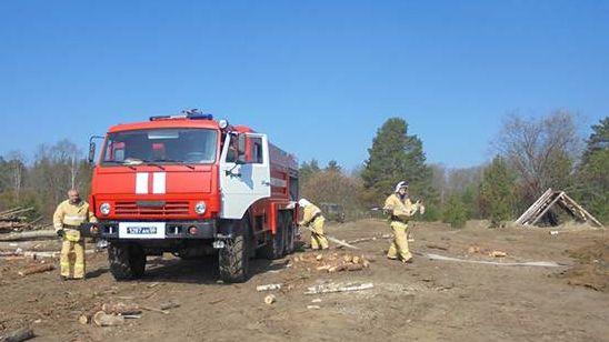 Завершение пожарной спецоперации