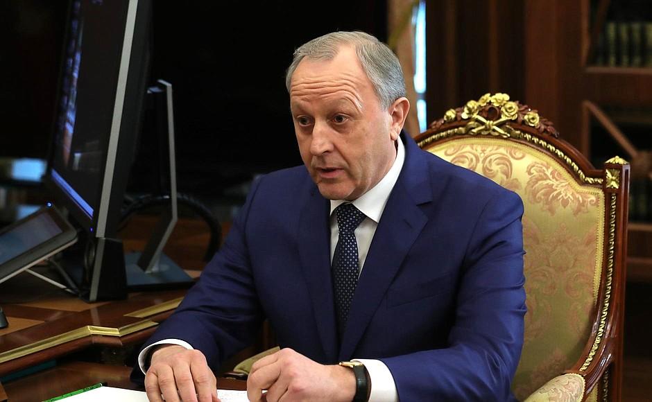 Губернатор Саратовской области Валерий Радаев [kremlin.ru]
