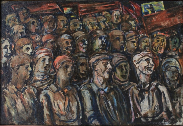Алексей Моргунов. Демонстрация. 1920