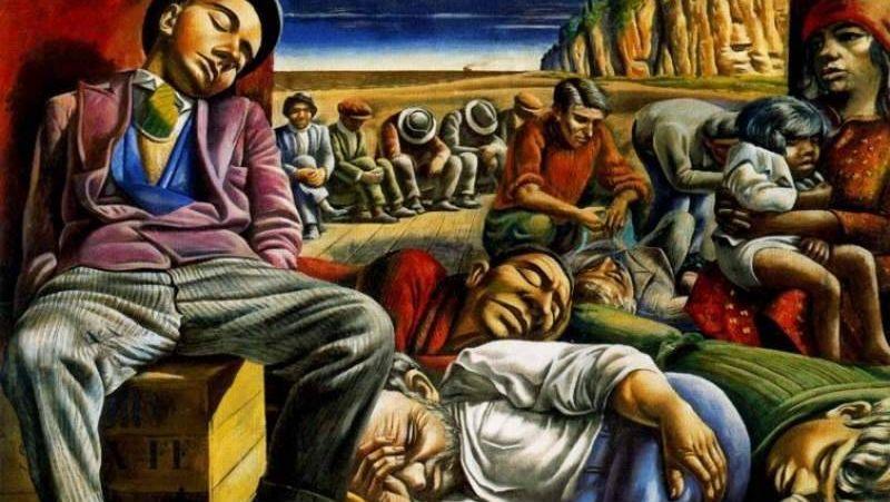 Антонио Берни. Безработица. 1934