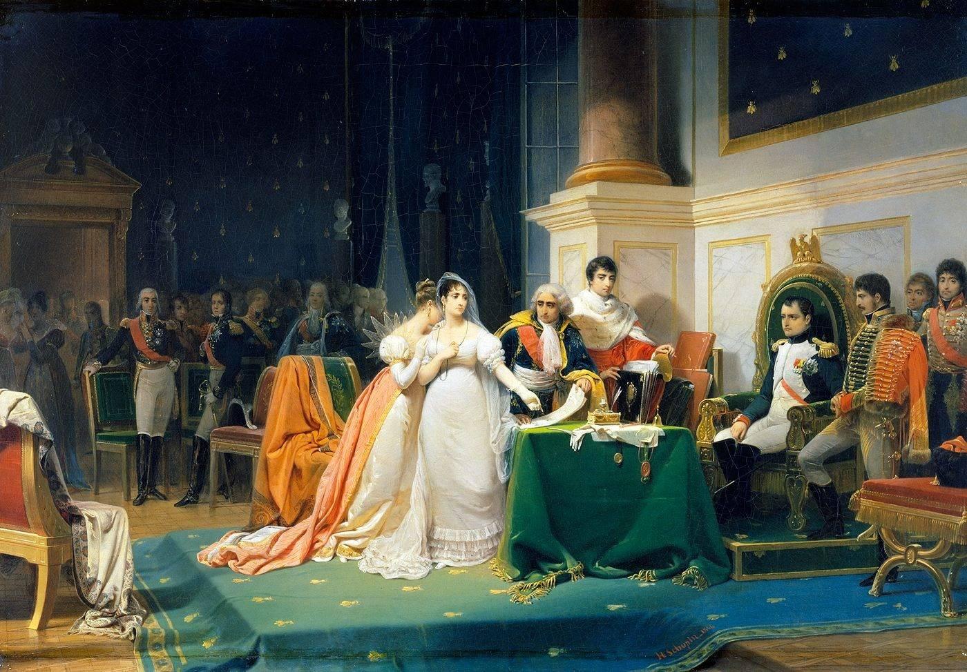 Анри Фредерик Шопен. Развод императрицы Жозефины. 1882г