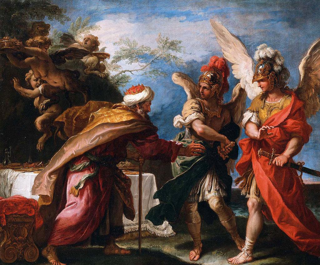 Себастьяно Риччи. Финей и сыновья Борея. Около 1695 г.