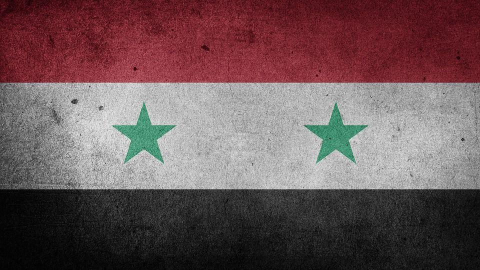Флаг Сирийской Арабской републики