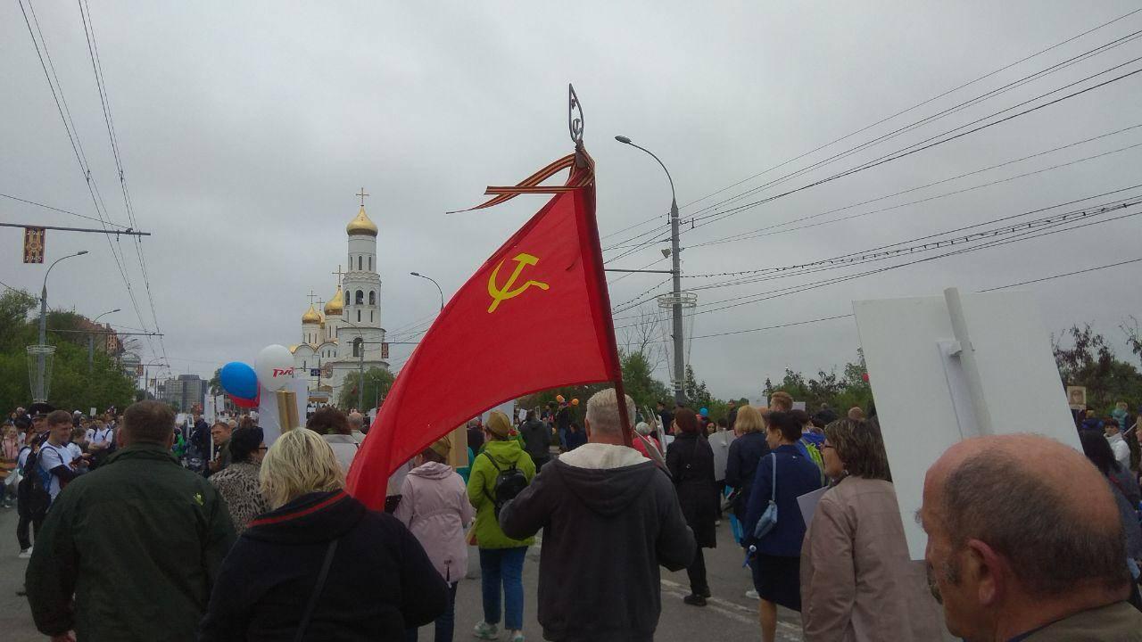 «Бессмертный полк». Брянск, 9 мая