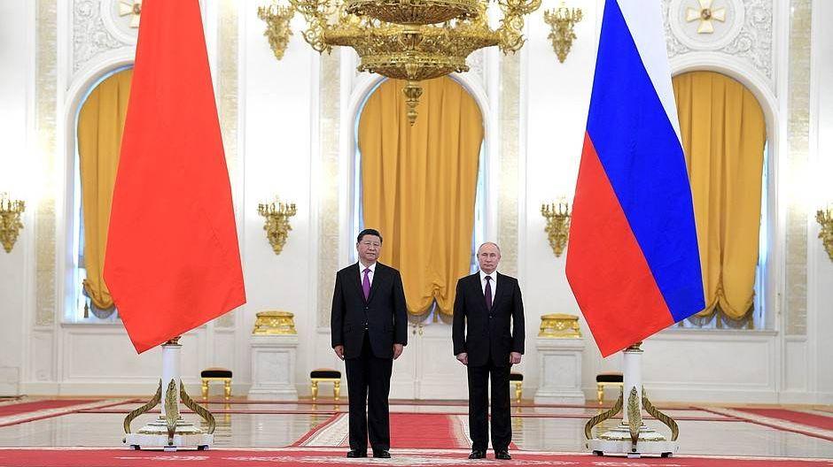 Официальная церемония встречи с Председателем Китайской Народной Республики Си Цзиньпином