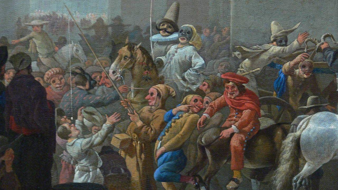 Иоганн Лингельбах. «Карнавал». 1651г.