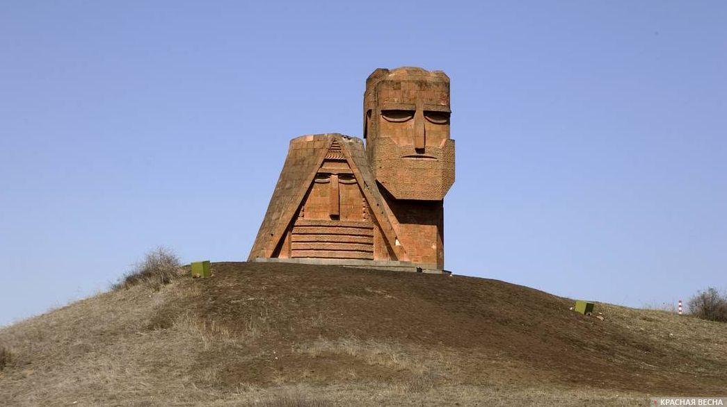 Памятник в Армении. Нагорный Карабах. 18.05.2018