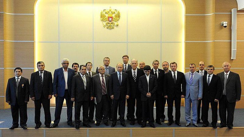 Москва. Встреча В.Путина с представителями крымско-татарской общины