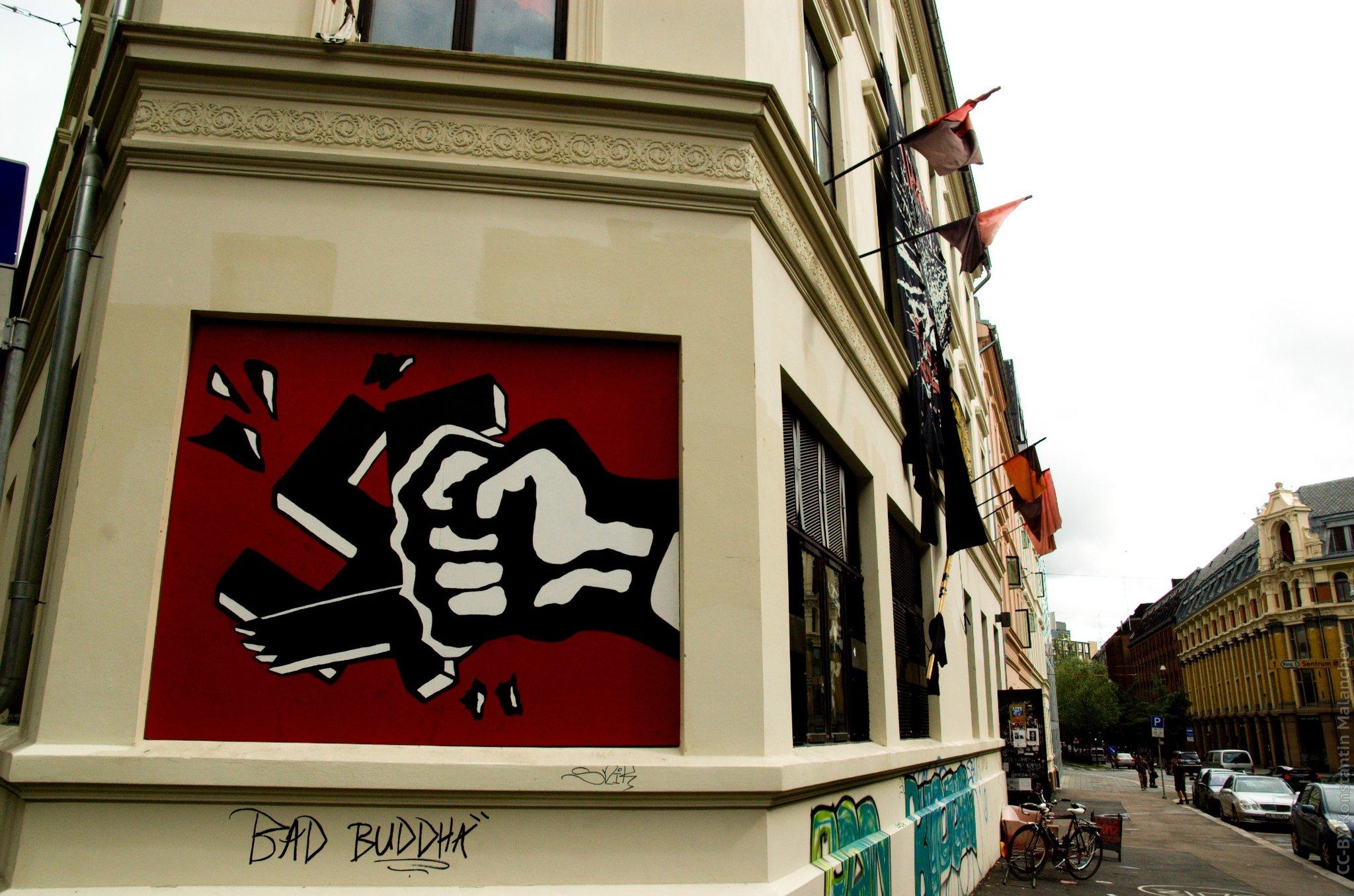 Долой фашизм, автор: Hombit [hombit], лицензия: CC BY 2.0