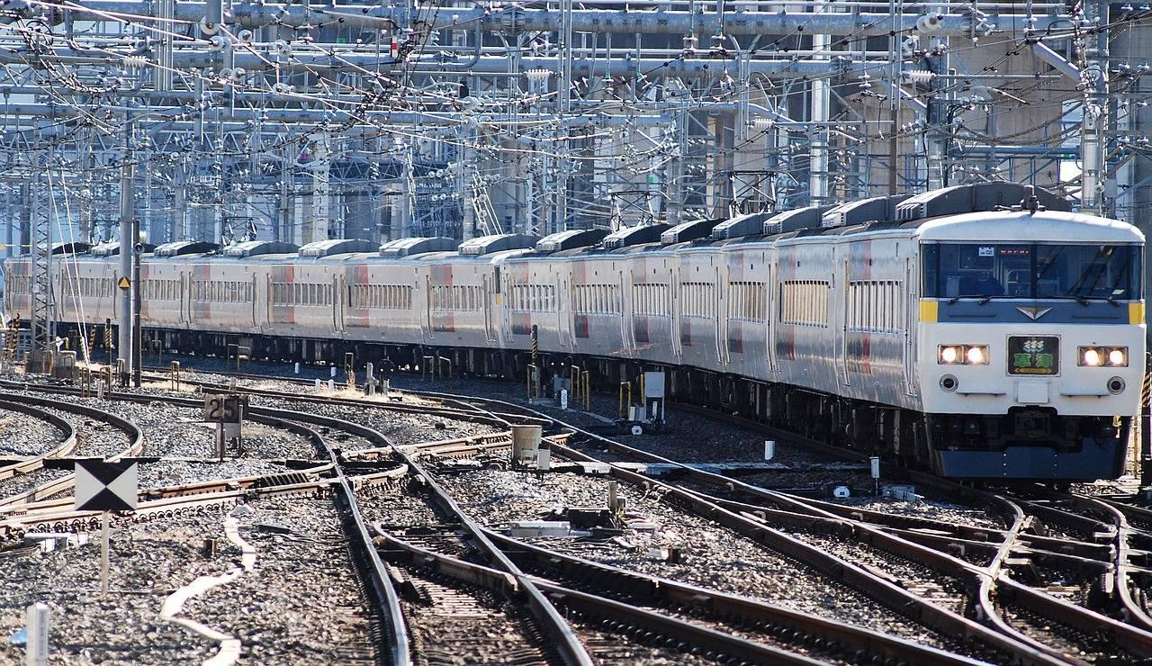 Япония. Поезд.