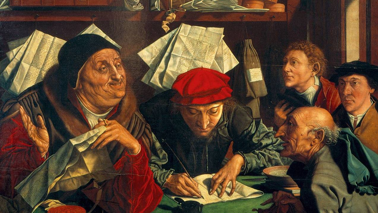 Маринус ван Реймерсвале. Сборщики налогов. 1542