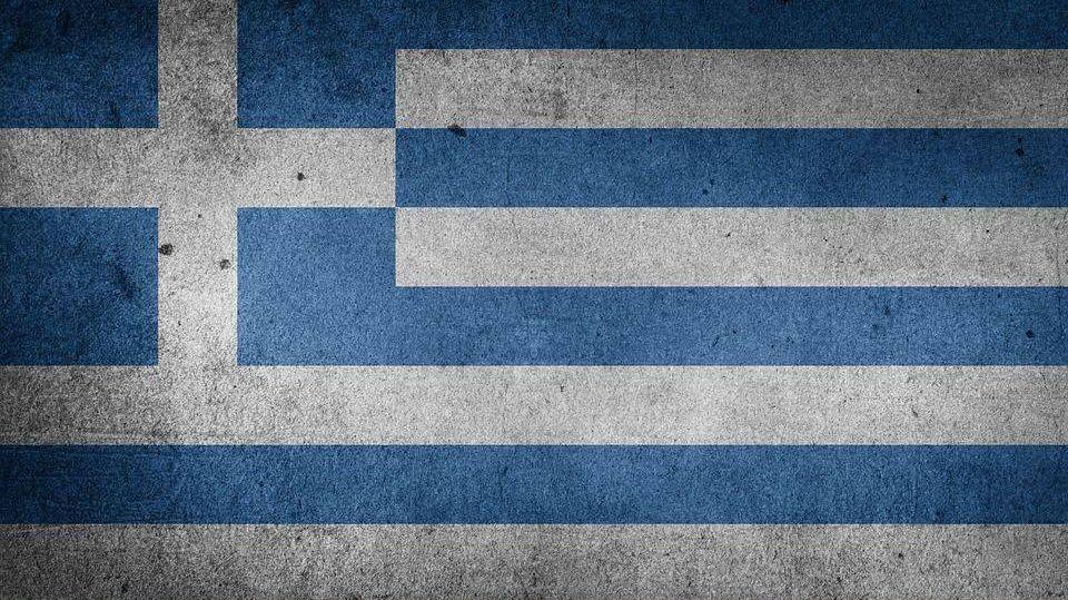 флаг, греция, европе