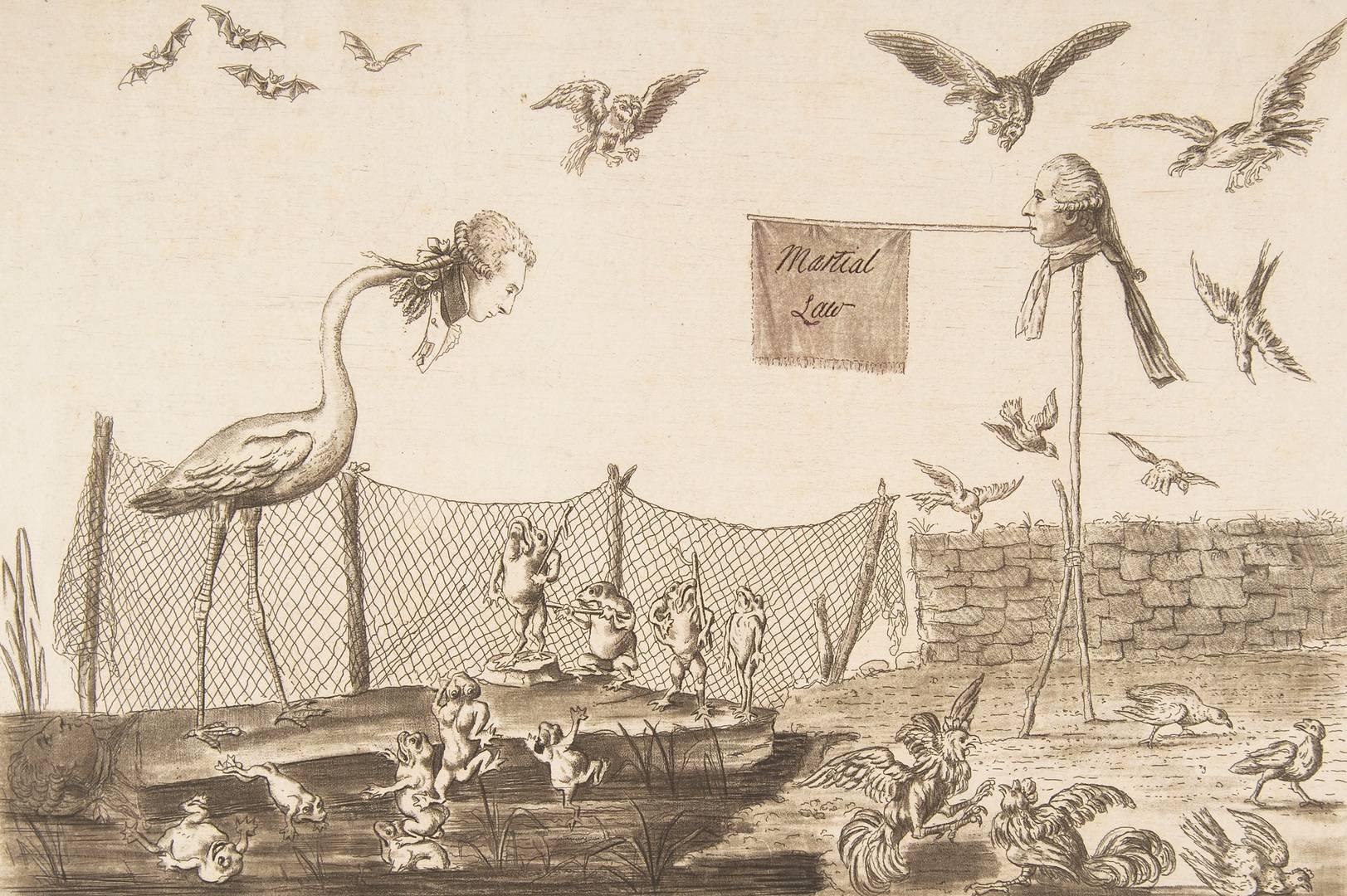 Лягушки, которые хотели короля. 1789