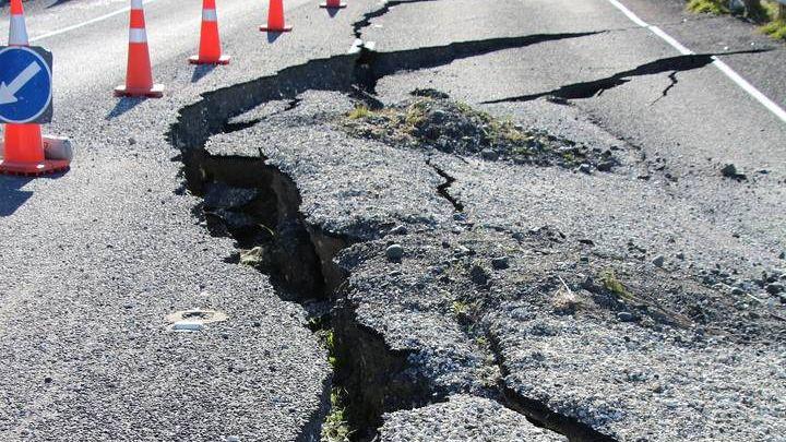 Последствие землетрясения
