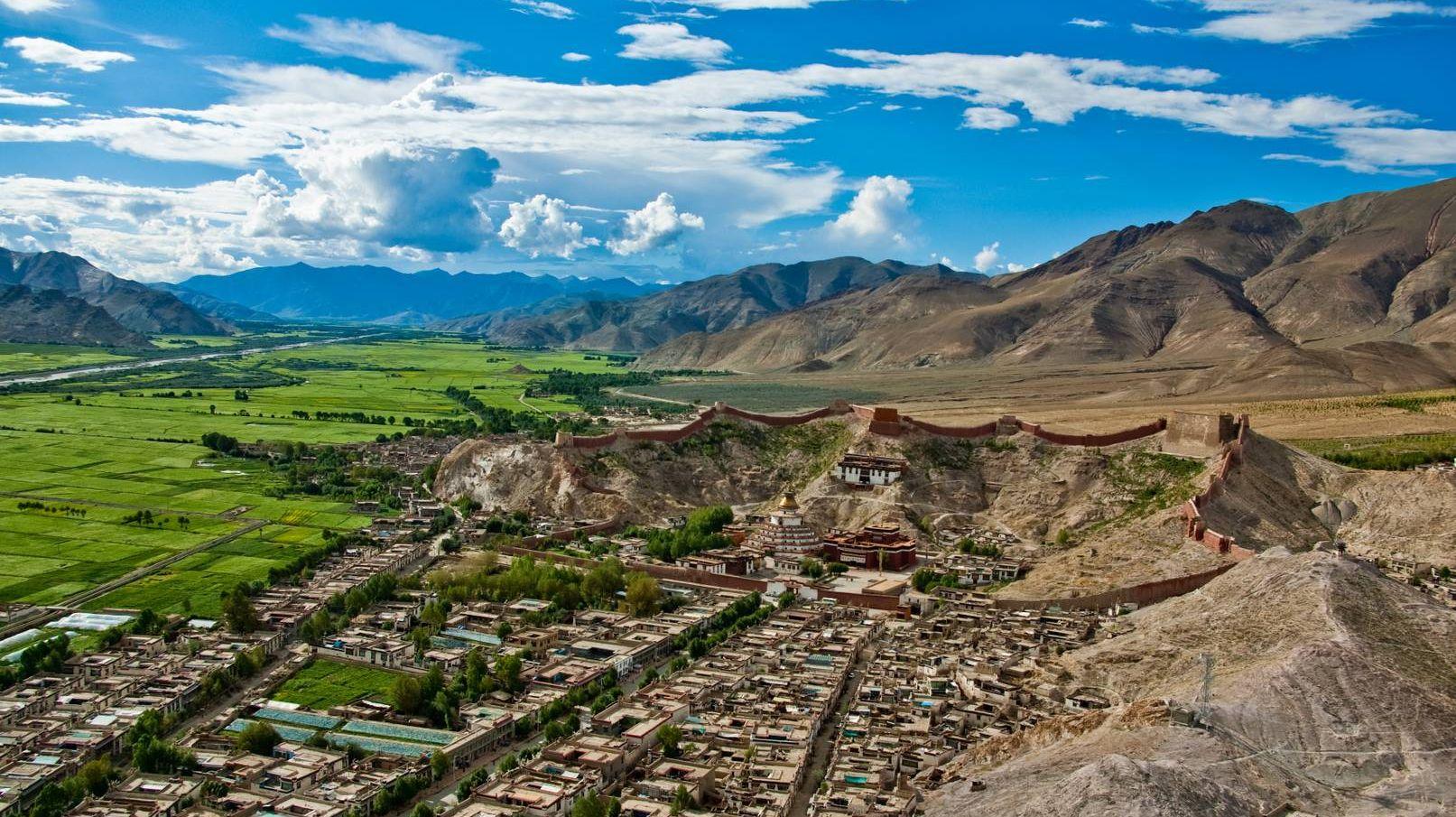 Тибет, Гианцзе