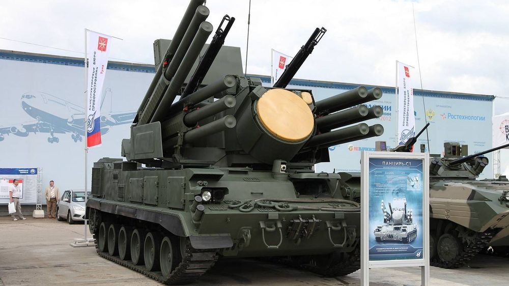 ЗРПК Панцирь-С1