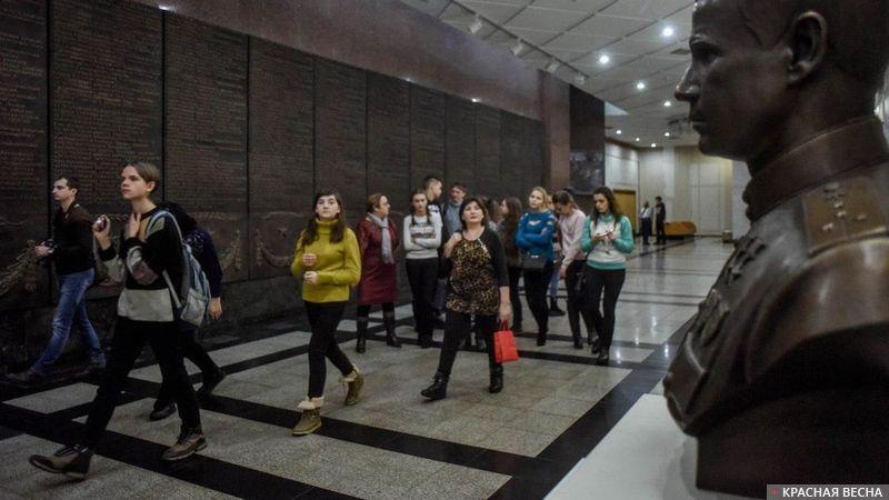 В Музее Победы. Поклонная гора. Москва. 21 декабря 2017