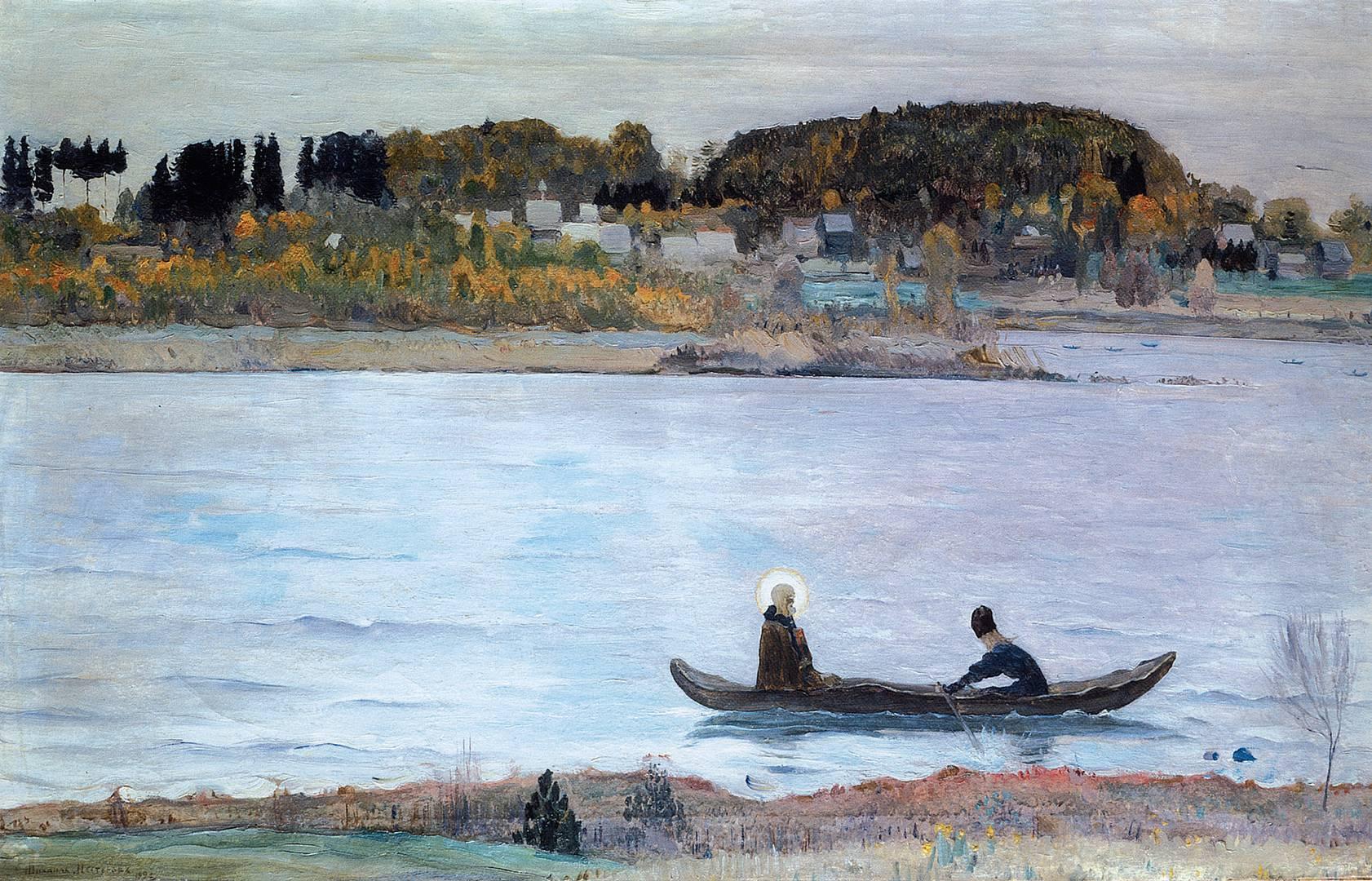 Михаил Васильевич Нестеров. Тихие воды. 1912