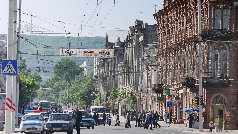Московская улица в Саратове