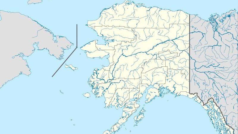 штат Аляска. США