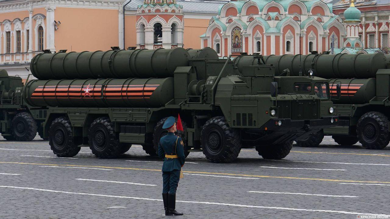 ЗРК С-400 на Параде Победы в Москве