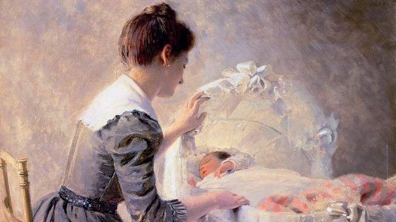 Эмиль Адан. Материнство. 1898